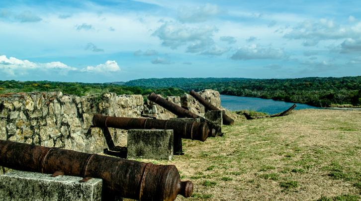 The forts of San Lorenzo